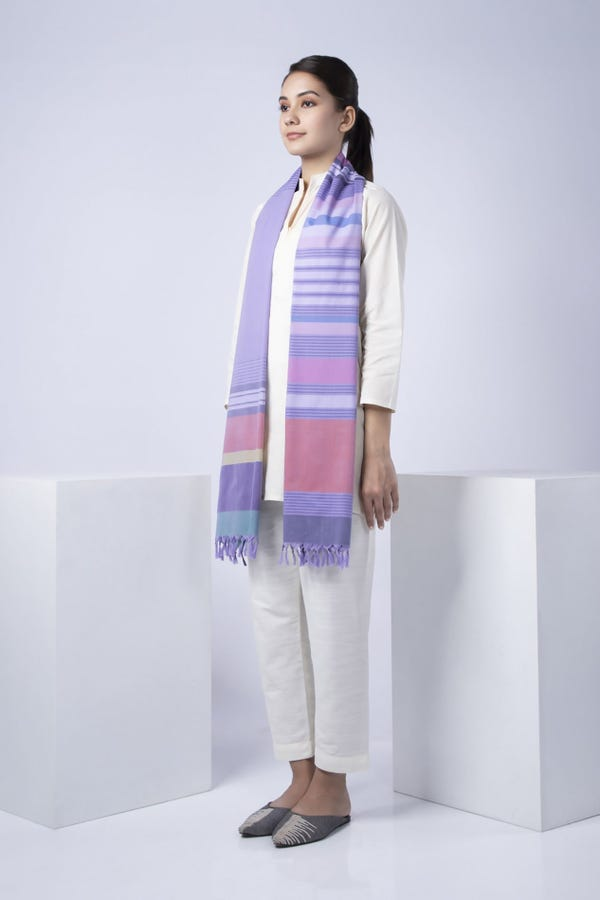 Women's Lilac Stole